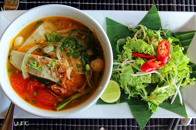 Bún chả cá Quy Nhơn Bình Định