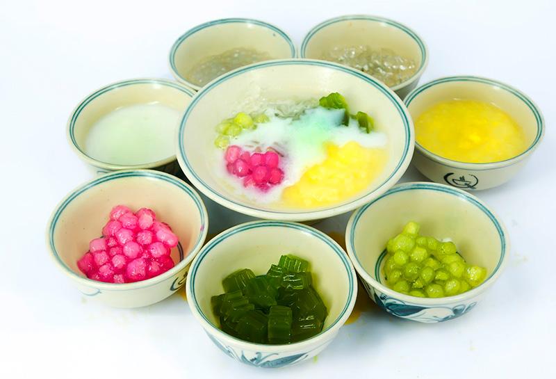 Chè xoa xoa hạt lựu Đà Nẵng