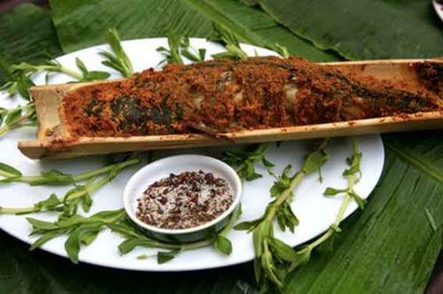 Lam nhọ Lai Châu (Thịt trâu nướng)