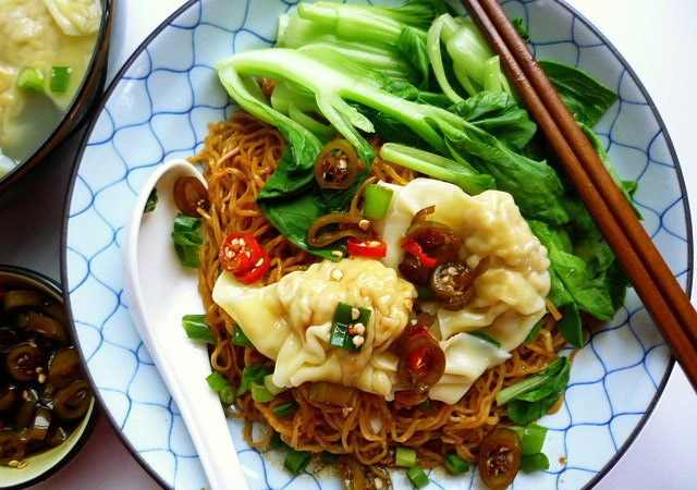 Mỳ hoành thánh Malaysia (Wonton Mee)