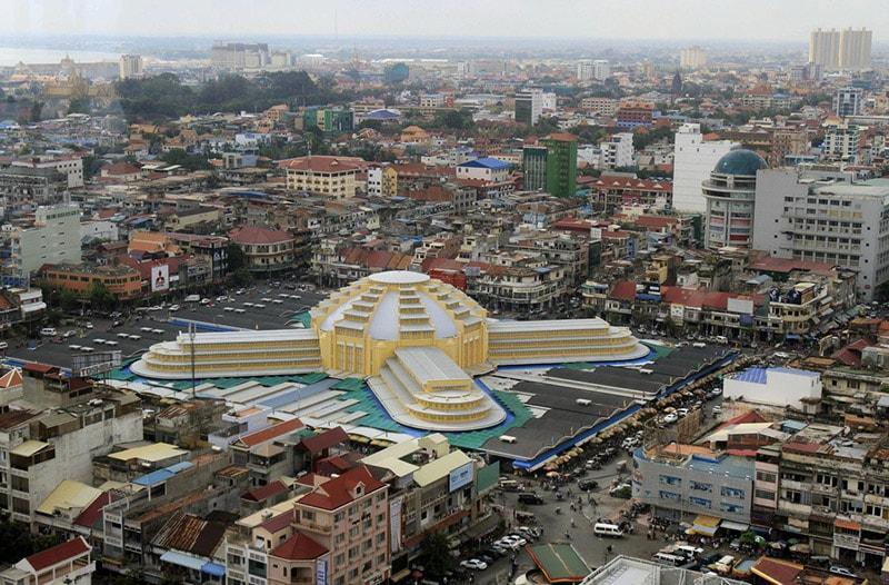 Chợ Kandal Phnom Penh Campuchia