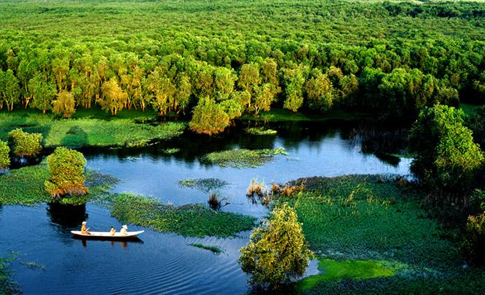 Du lịch sinh thái Đồng Tháp Mười ở Long An