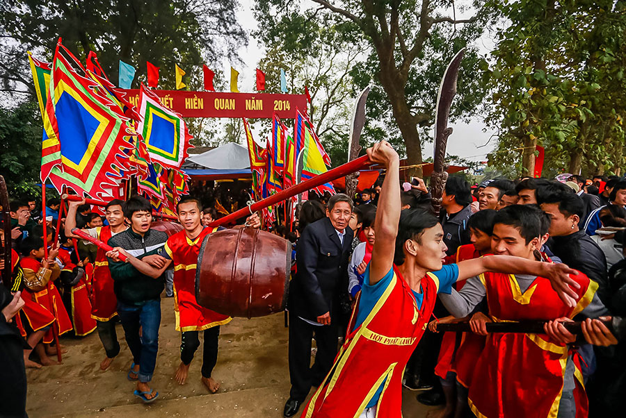 Lễ hội phết Hiền Quan