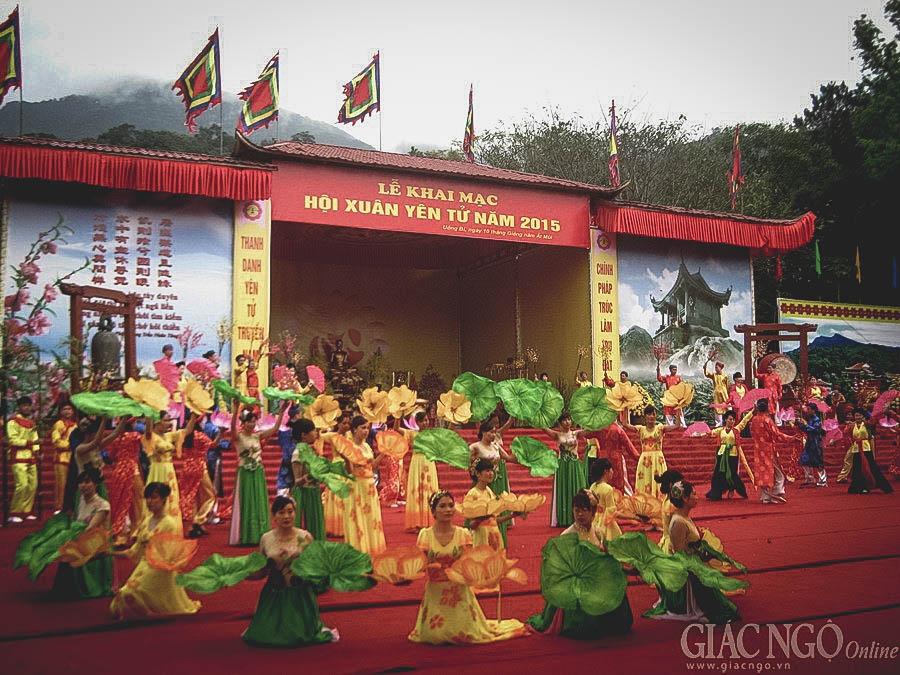 Lễ hội xuân Yên Tử