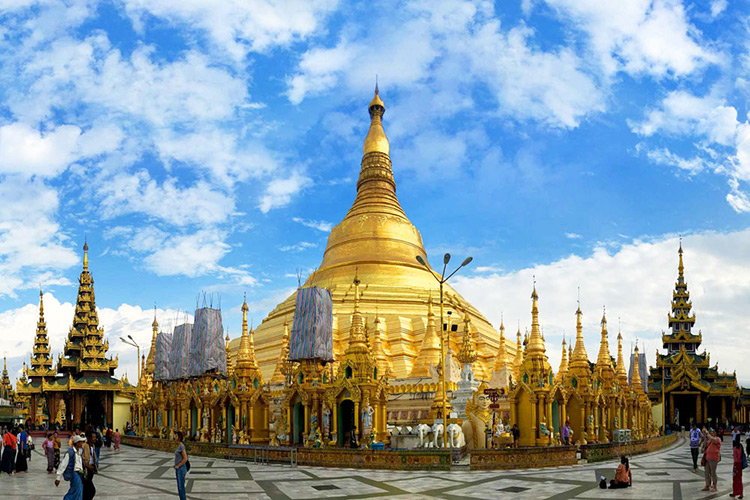 Kinh nghiệm du lịch phượt Chùa vàng Swedagon