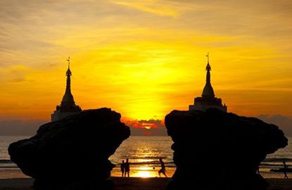 Kinh nghiệm du lịch phượt Bãi biển Ngwe Saung