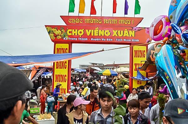 Chợ Viềng Nam định Mùng Mấy: Lễ Hội Chợ Viềng Xuân