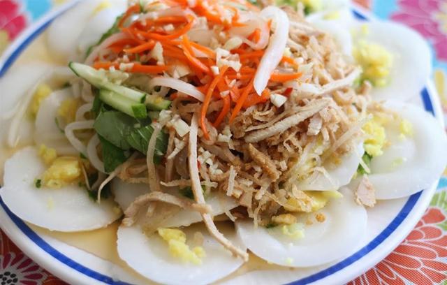Bánh bèo chợ Hàng Bông Tiền Giang