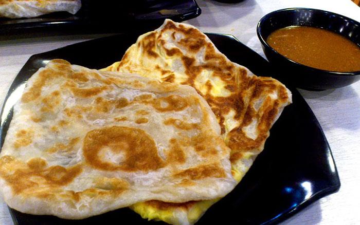 Bánh mì nướng Kaya Singapore
