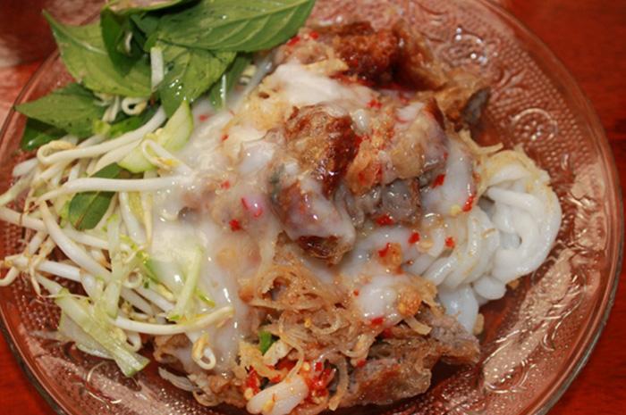 Bánh tằm bì Hà Tiên