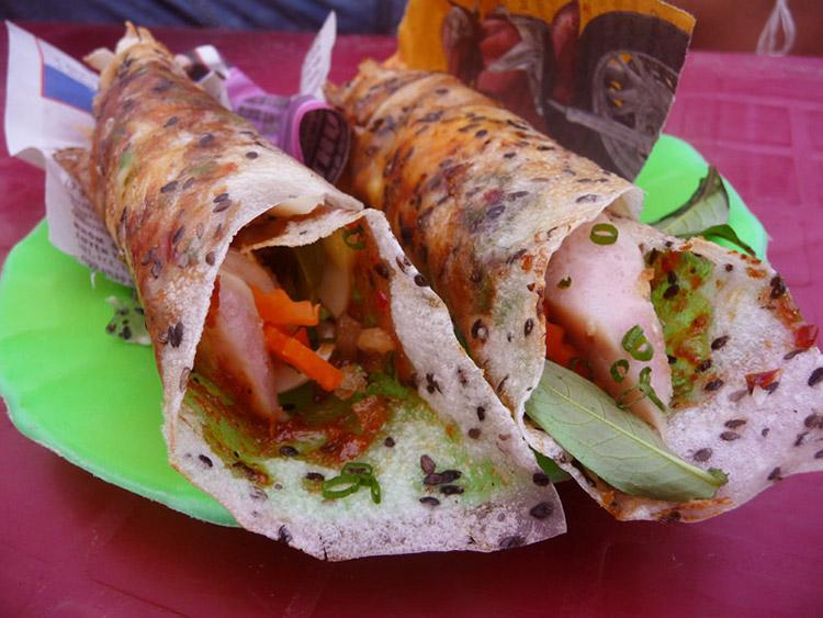 Bánh tráng mắm ruốc Bình Thuận
