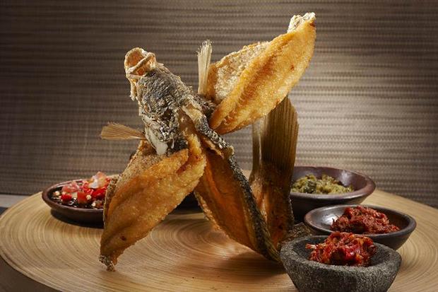 Cá chồn nướng núi Thành Quảng Nam