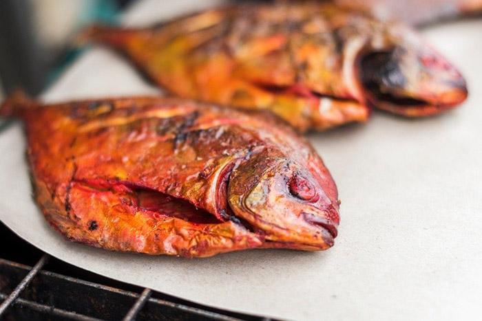 Cá nướng Brunei