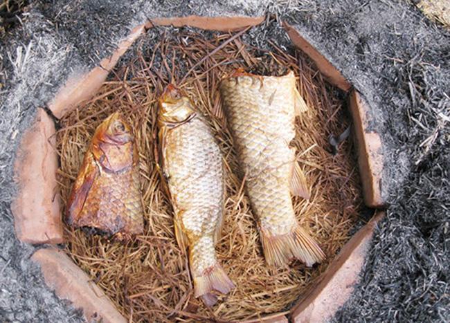 Cá nướng úp chậu Nam Định