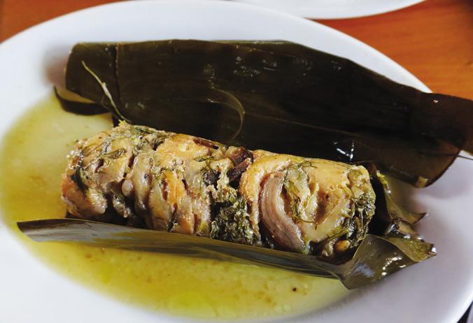 Cá suối ướp chua Mai Châu