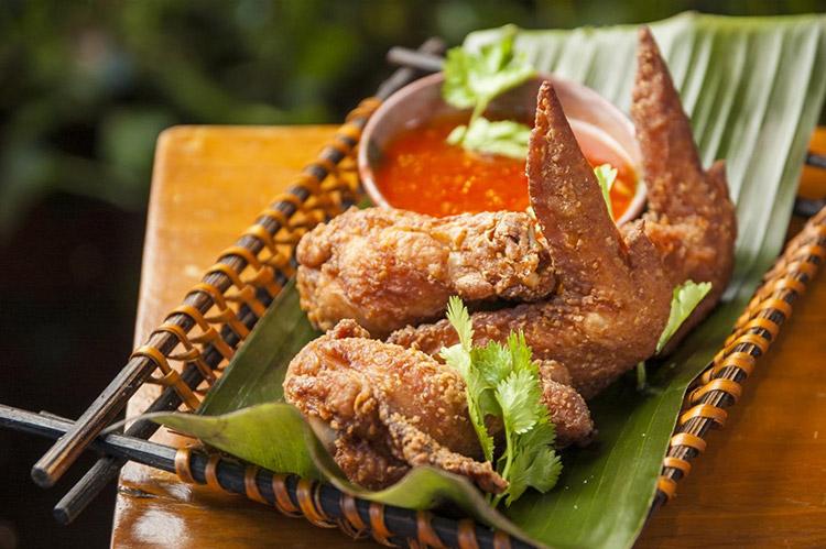 Các món sốt cay Krabi