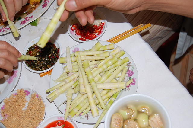 Các món từ măng Điện Biên