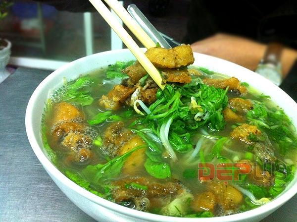Canh cá Quỳnh Côi Thái Bình