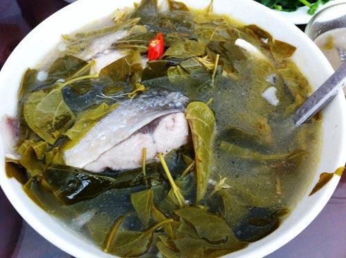 Canh chua lá dang Đồng Nai