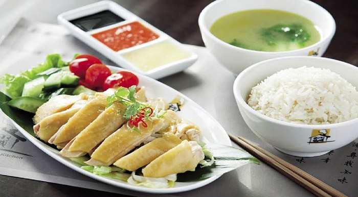 Cơm gà Malaysia (Chicken Rice)