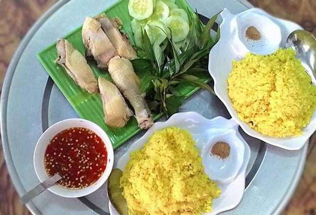 Cơm gà Ninh Chữ Ninh Thuận