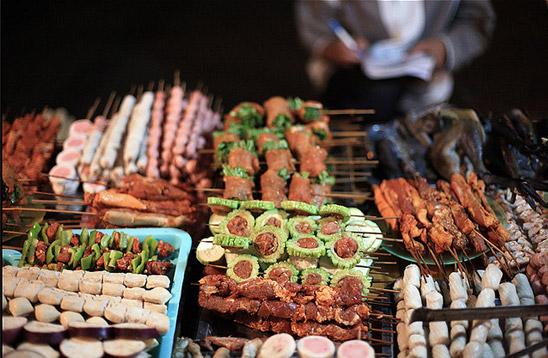 Đồ nướng ở Sapa Lào Cai