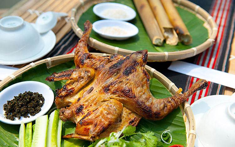 Gà nướng Bazan Pleiku