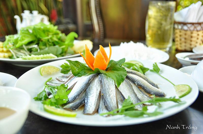 Gỏi cá trích Hà Tiên