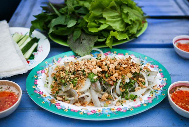 Gỏi hải sản Bình Thuận