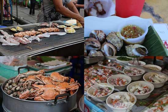 Hải sản nướng Krabi
