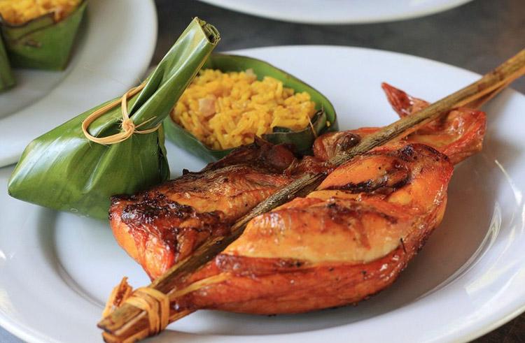 Ping Kai Lào (gà nướng)