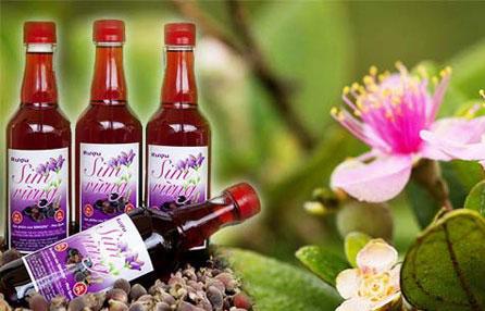 Rượu vang ngọt sim Măng Đen Kontum