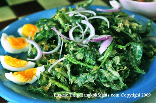 Stir Fried Morning Glory Pattaya