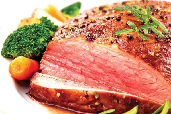 Thịt bò tái kiến đốt Vĩnh Phúc