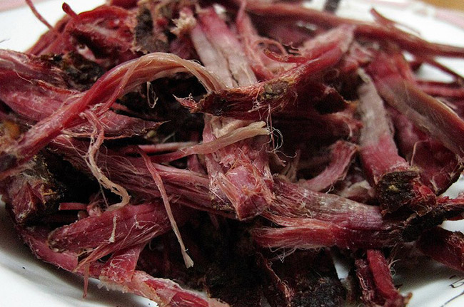 Thịt trâu gác bếp Yên Bái