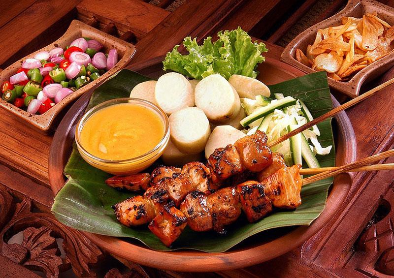 Thịt xiên Satay Singapore