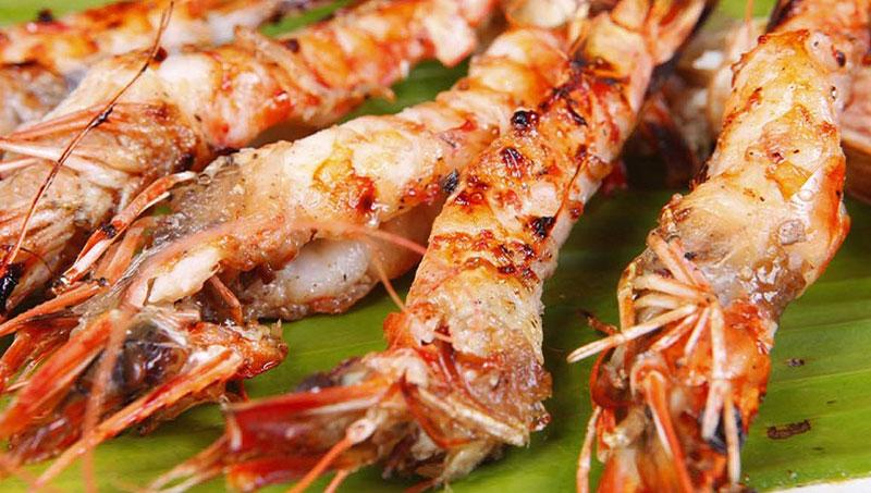 Tôm sú biển nướng Phú Quốc