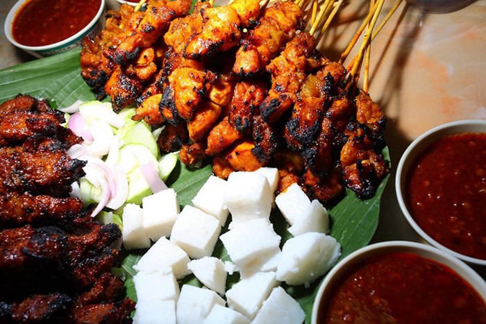 Xiên nướng Satay Malaysia