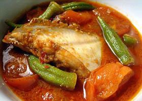 Asam Pedas Fish Melaka