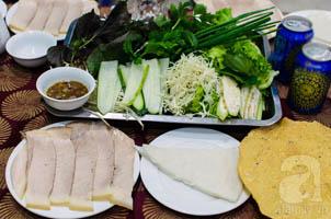 Bánh Tráng Thịt Heo Quảng Nam