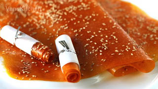 Bánh tráng xoài Khánh Hòa