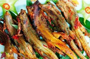 Các món từ con dông Ninh Thuận
