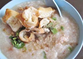 Cháo Quảng Đông Malaysia (Cantonese Porridge)