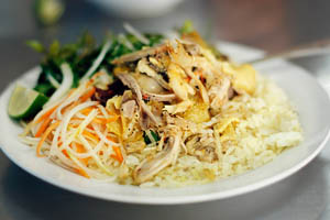 Cơm gà phố Hội Quảng Nam