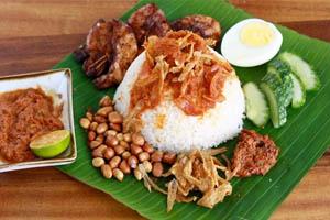 Cơm Nasi Lemak Malaysia