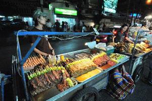 Đồ xiên nướng Thái Lan