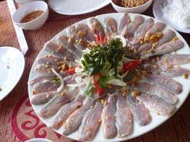 Gỏi cá chình Bình Định