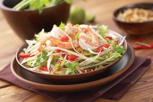 Gỏi đu đủ Tomyam Campuchia