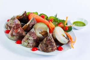 Gỏi ốc nón Ninh Thuận