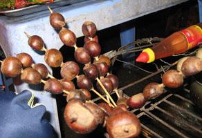 Hạt dẻ nướng Lào Cai